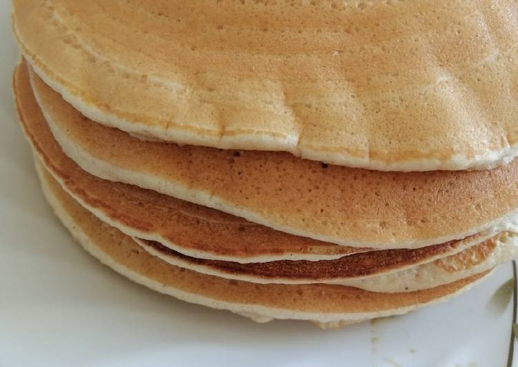 How to Cook Appetizing Fluffy pancakes