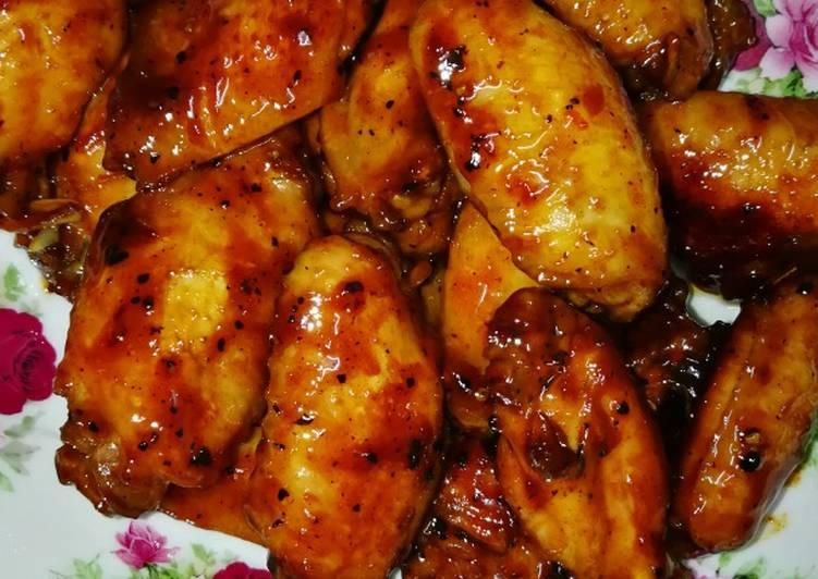 Roasted Chicken Wings & Drummets #PinkBoxCereal - velavinkabakery.com