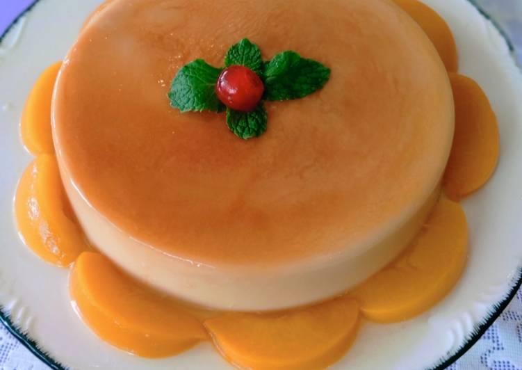 Puding Caramel (Tanpa Telur) - velavinkabakery.com