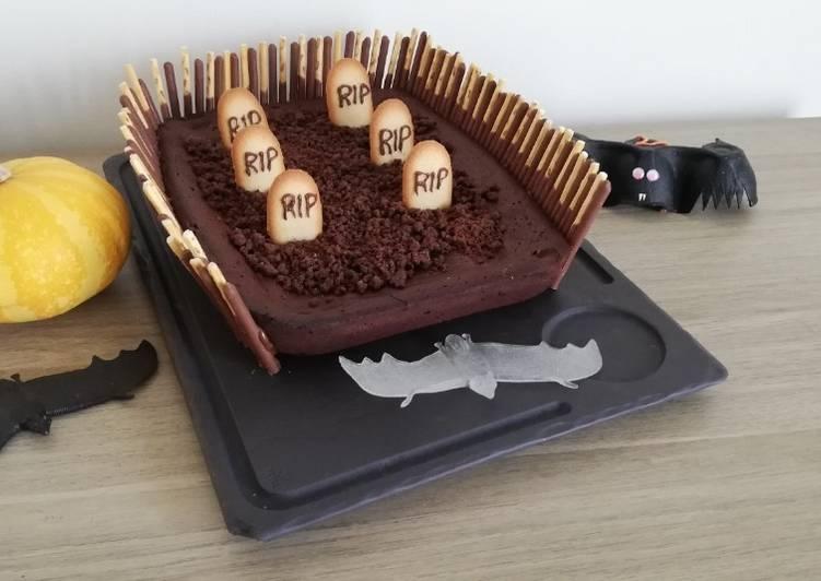 Comment Préparer Les Gâteau tout chocolat #halloween