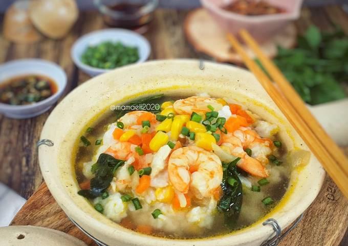 Bubur Nasi Jagung