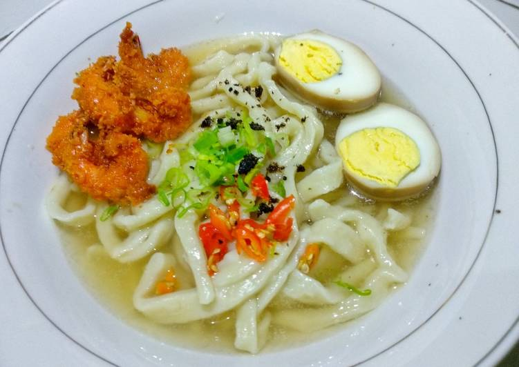Udon homemade