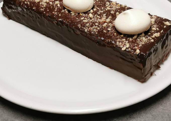 Flan au chocolat revisité