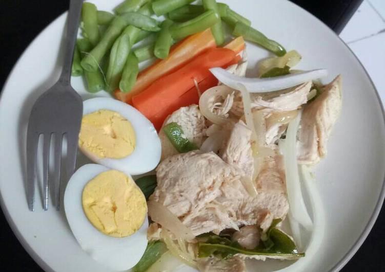 Resep Ayam Rebus Untuk Diet Oleh Putri Rizka Cookpad