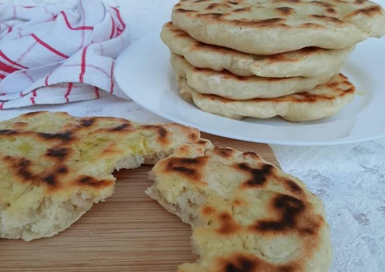 Ricetta Pita greca in padella