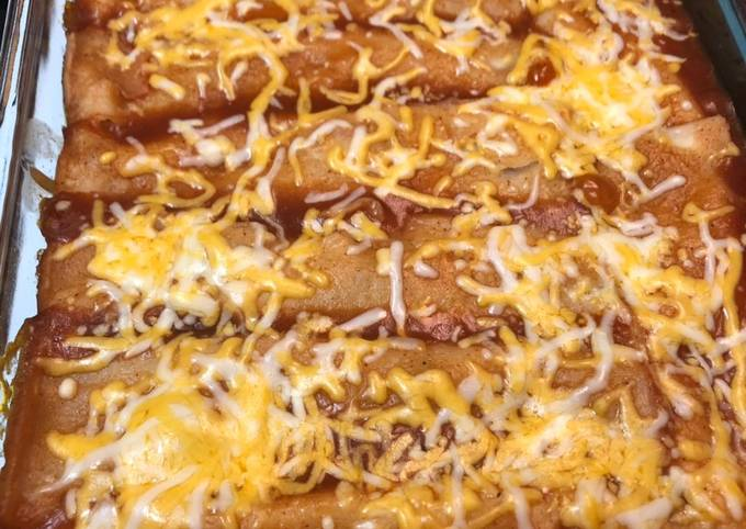 Steak Enchiladas