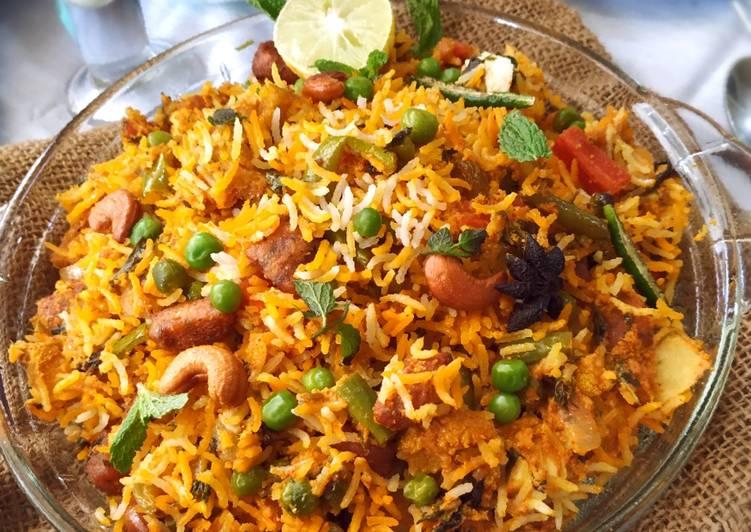 10 Minute Recipe of Quick Rajastani Gatta Dum Biryani