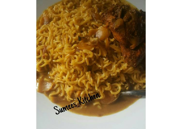 My juicy curry noodles