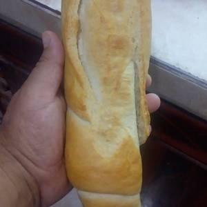 Pan casero o pan de baguette
