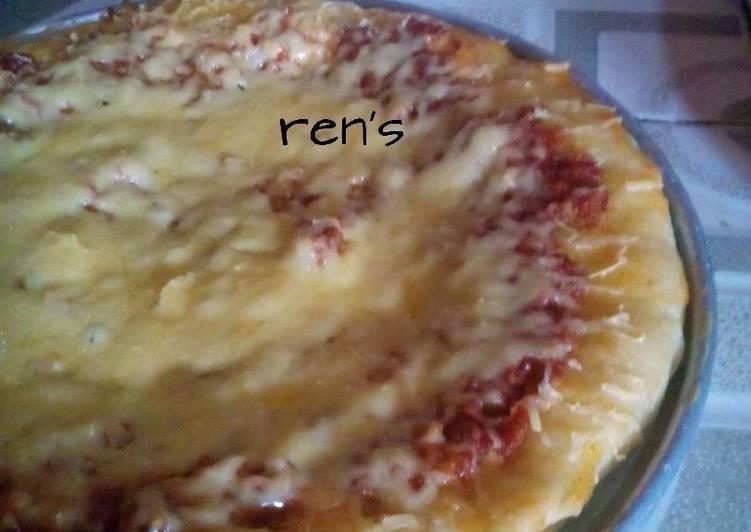 Pizza tanpa oven 😁
