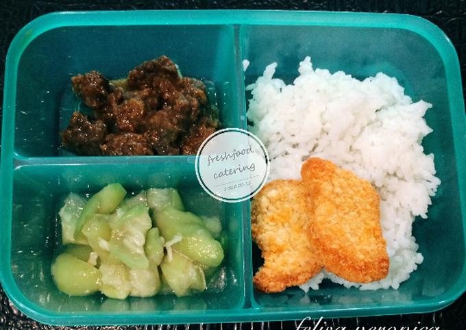 Bekal makan siang suami