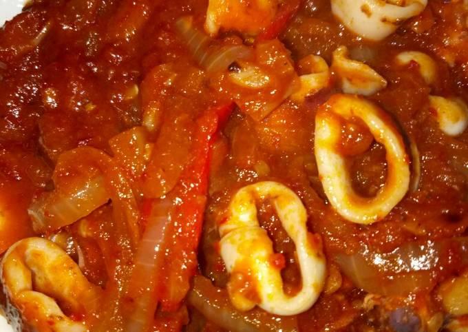 Sotong masak pedas