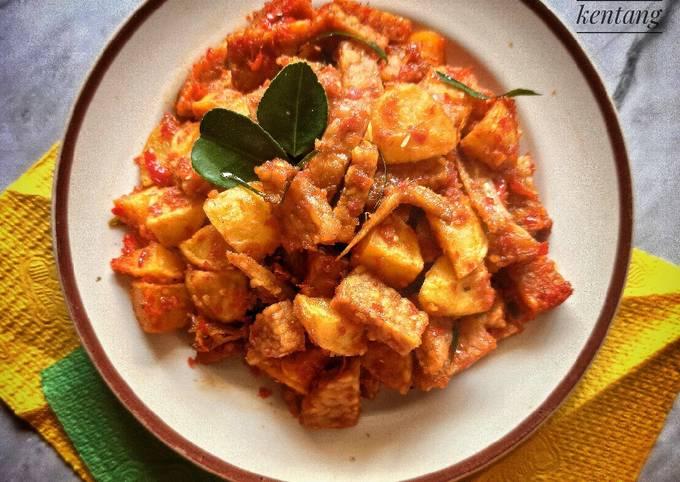 sambal goreng tempe kentang - resepenakbgt.com