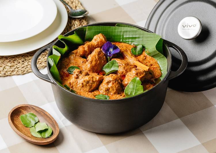 Chicken Rendang with Lime Leaves by Chef Dato' Fazley Yaakob