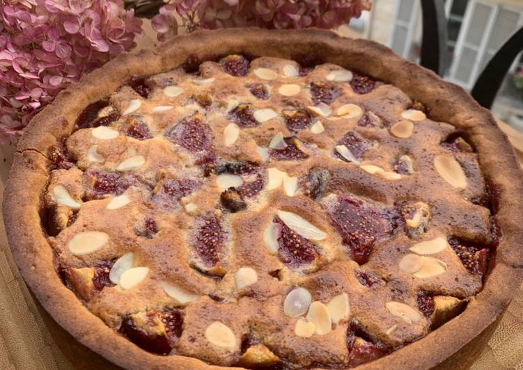 Recipe: Delicious Tarte aux figues