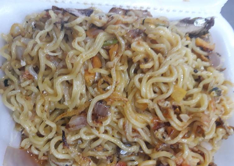 Simple Way to Prepare Super Quick Homemade Sardine Noddles