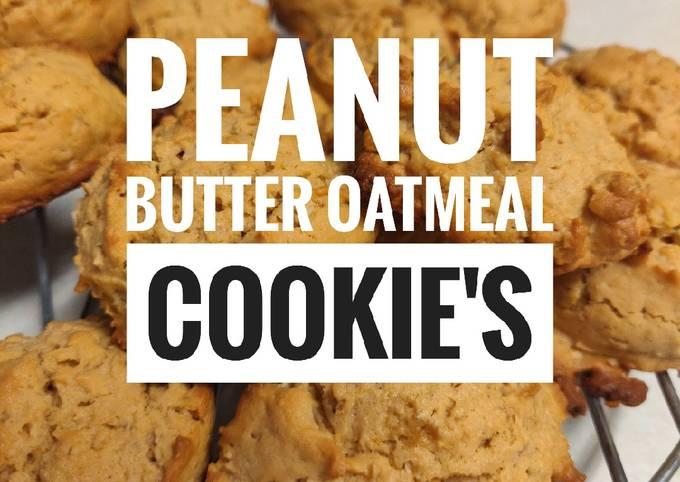 Recipe Good Peanut Butter Oatmeal Cookies🍪