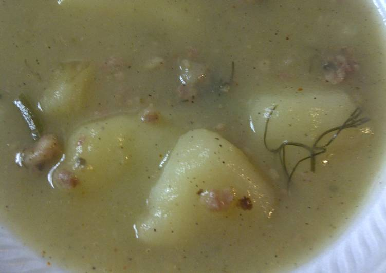 Heather's Potato Fennel Soup