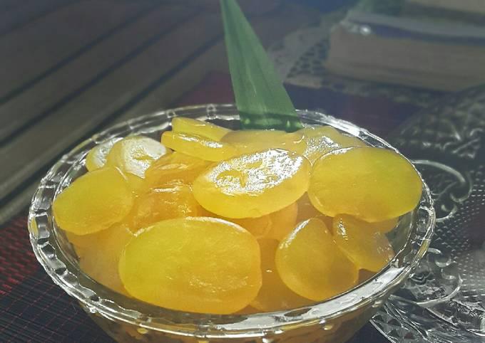 Manisan Kolang-Kaling Rasa Lemon