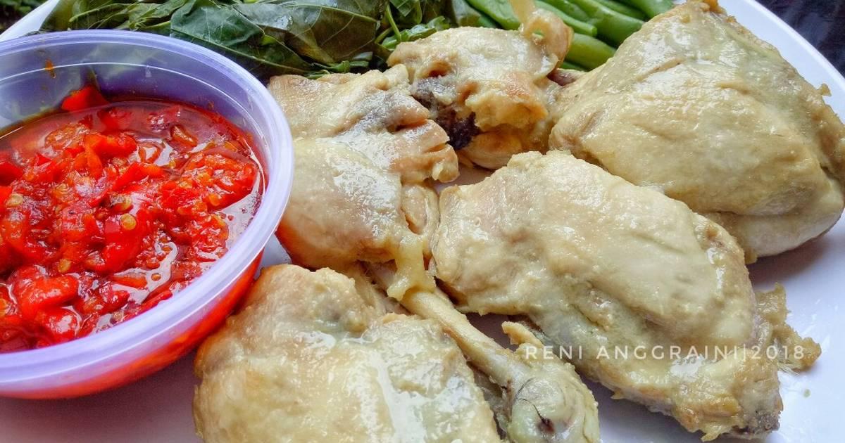 Resep Ayam Pop Padang Pr Recookrancakbana Oleh Renie Wisra Cookpad