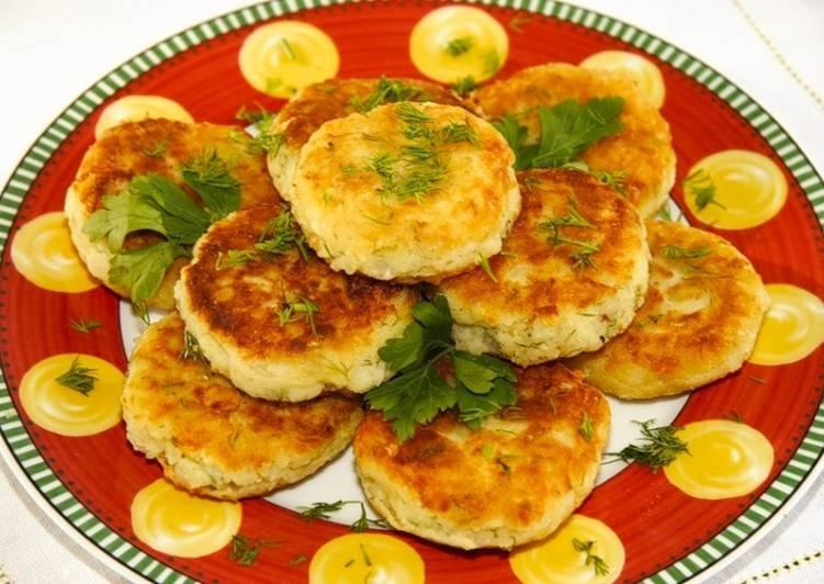 блинчики из картофельного пюре рецепт