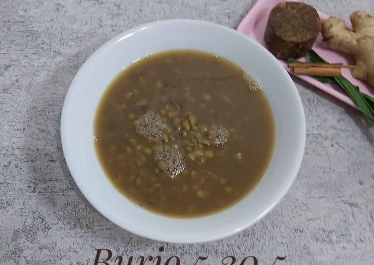 Bubur kacang hijau metode 5.30.5 (tanpa santan)