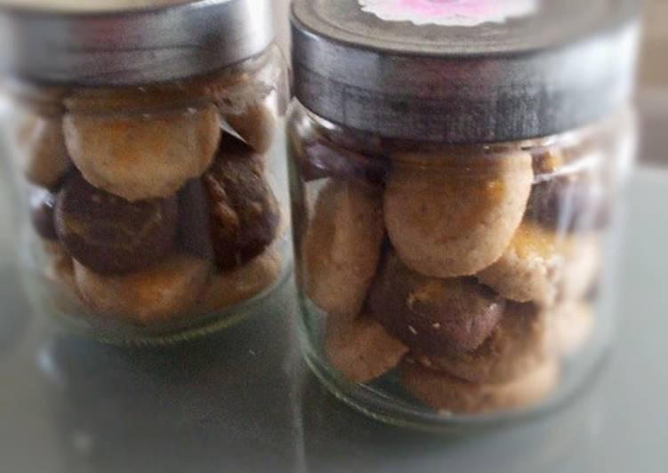 Peanut cookies(kue kacang)