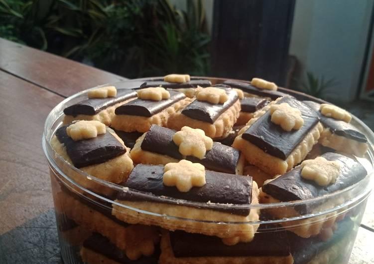 Cookies coklat simple enak