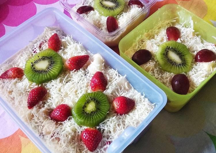 9. 🍓🥝 Fruits Salad   Salad Buah 🥝🍓