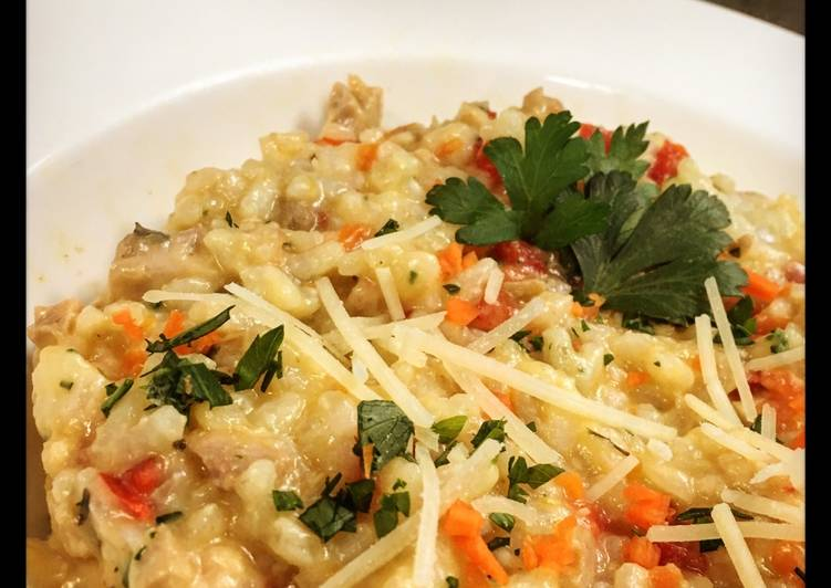 Chicken Vegetable Risotto