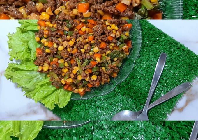 Tumis daging sapi giling mudah dan lezat - projectfootsteps.org