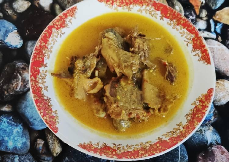 Resep Gulai Ayam Kampung, Bikin Ngiler