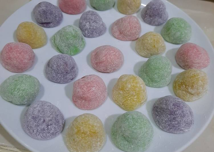 Mochi rainbow - cookandrecipe.com