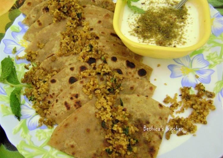 Keema & Couscous Paratha
