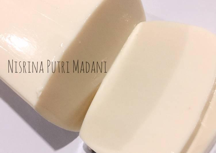 Puding Susu lembut kekinian 3 bahan yang MUDAH BANGETT cara buatnya
