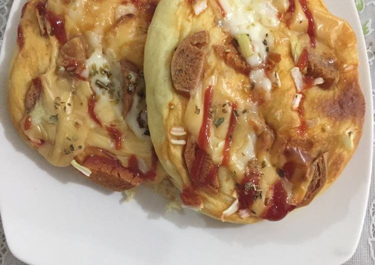 Roti pizza mini