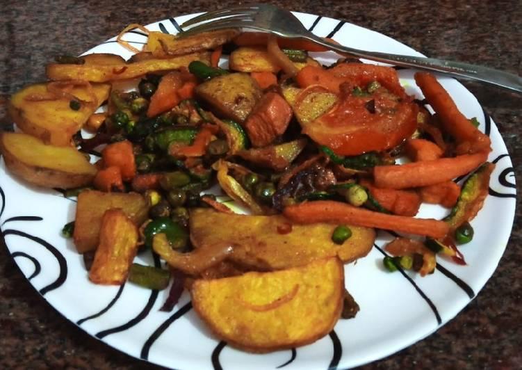 Simple Way to Prepare Award-winning Deep fried veges