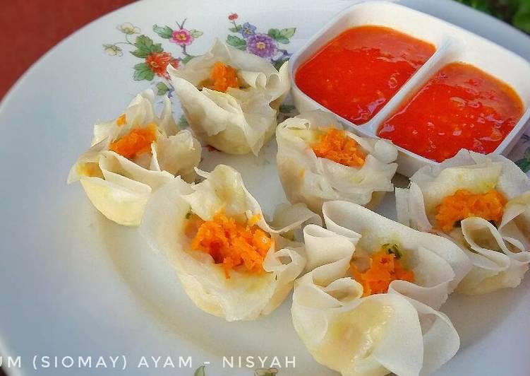 Resep Siomay Dimsum Ayam Sederhana Mudah Oleh Nisyah Cookpad
