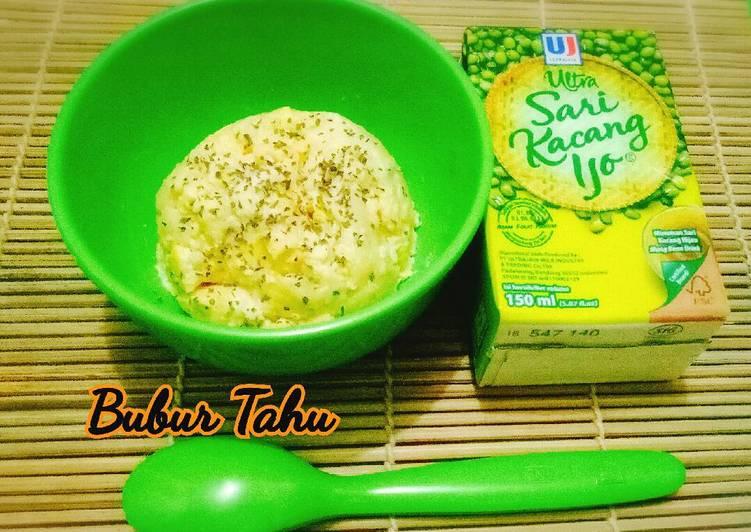 Bubur Tahu (menu si kecil yang sakit) MPASI