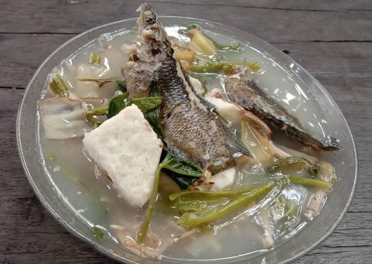 Gangan karuh keladi khas Banjarmasin
