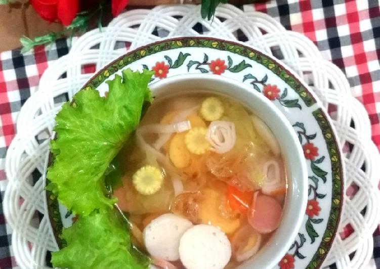 129. Sup Baso Seafood