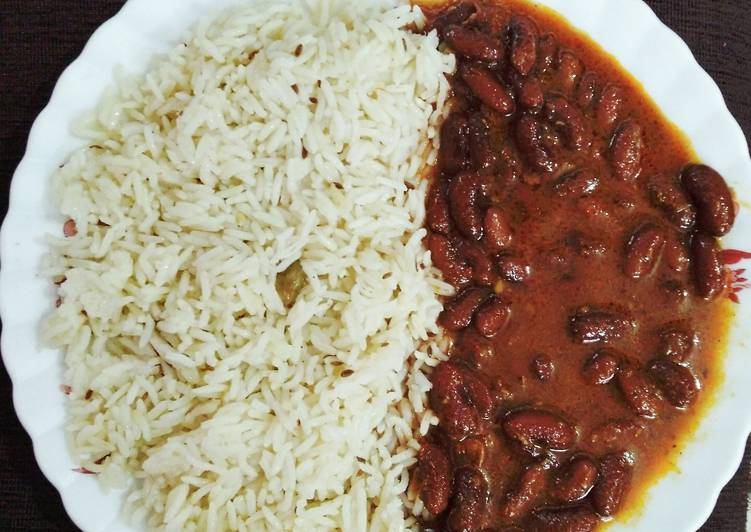 Rajma curry with jeera rice Choosing Fast Food That's Very good For You