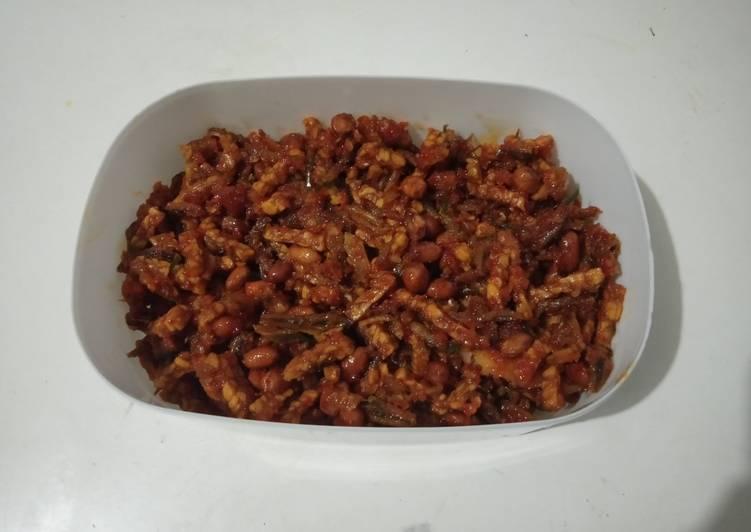 Balada teri kacang tempe
