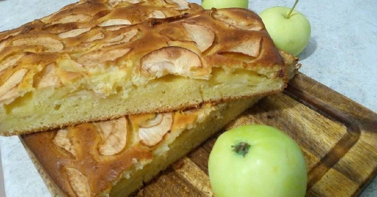 Рецепты яблочно грушевого пирога пошагово с фото