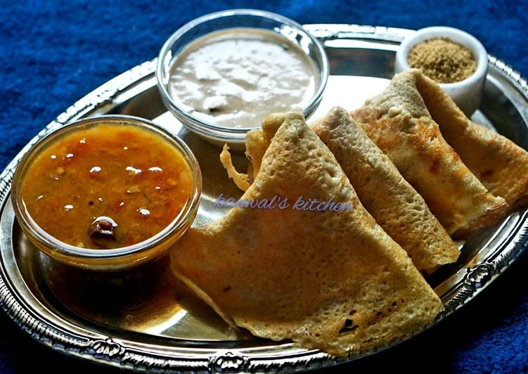 Recipe of Ultimate Foxtail millet dosa