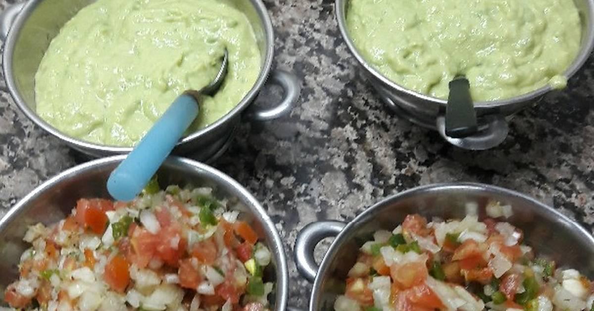 Salsas Para Tacos Y Patas Flambeada Receta De Gisela Iris Boscatto Cookpad