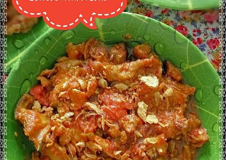 Gongso Ayam Pedas