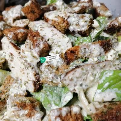 سلطه سيزر الايطاليه بالنكهه الاصليه بالصور من Chef Sojood Abubaker كوكباد