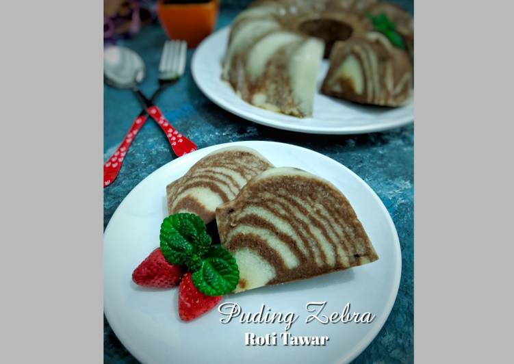 109.PUDING ZEBRA Roti Tawar