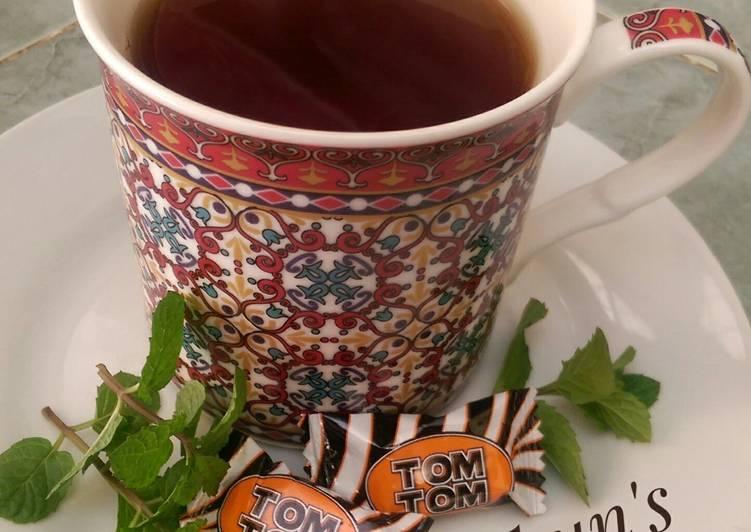 Tea(Menthol, Spiced, lemon and pineapple flavored tea)